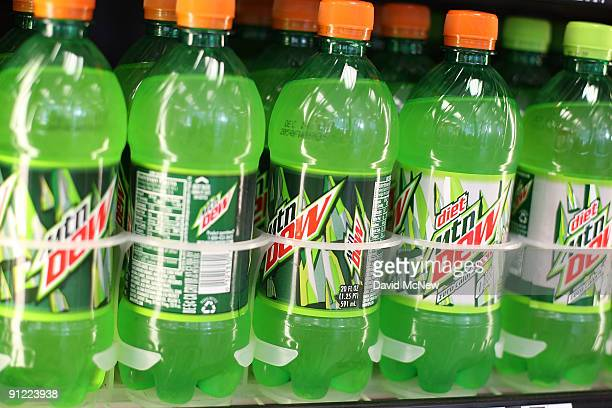 Twentyounce plastic soda bottles that are among containers that could become subject to new return deposits are seen on a store shelf in a gas...