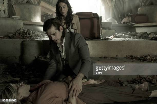 THE MAGICIANS 'TwentyThree' Episode 311 Pictured Olivia Taylor Dudley as Alice Jason Ralph as Quentin Coldwater Stella Maeve as Julia Wicker