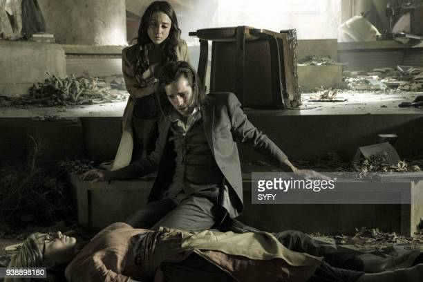 THE MAGICIANS TwentyThree Episode 311 Pictured Olivia Taylor Dudley as Alice Stella Maeve as Julia Wicker Jason Ralph as Quentin Coldwater