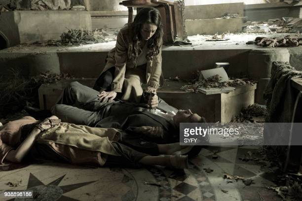 THE MAGICIANS 'TwentyThree' Episode 311 Pictured Olivia Taylor Dudley as Alice Stella Maeve as Julia Wicker Jason Ralph as Quentin Coldwater