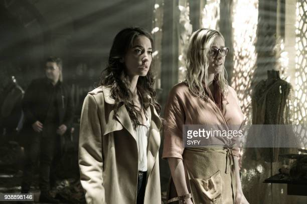 THE MAGICIANS 'TwentyThree' Episode 311 Pictured Stella Maeve as Julia Wicker Olivia Taylor Dudley as Alice