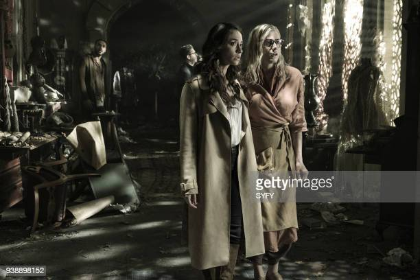 THE MAGICIANS TwentyThree Episode 311 Pictured Stella Maeve as Julia Wicker Olivia Taylor Dudley as Alice