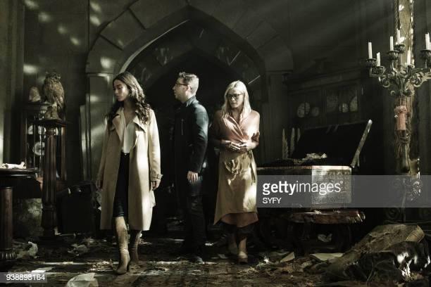 THE MAGICIANS 'TwentyThree' Episode 311 Pictured Stella Maeve as Julia Wicker Trevor Einhorn as Josh Hoberman Olivia Taylor Dudley as Alice
