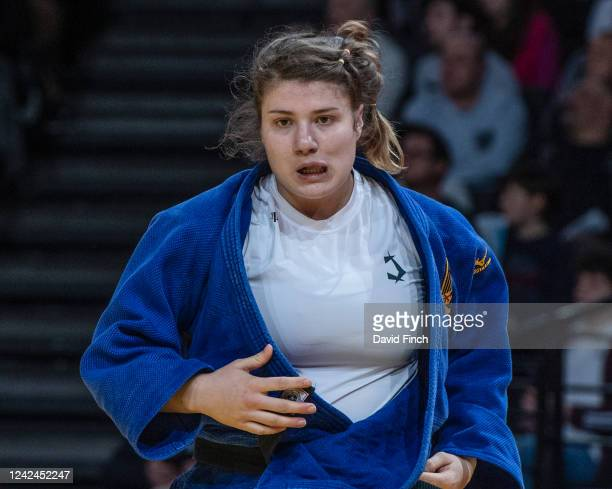 Twice European junior finalist and four times national champion, Renee Lucht of Germany lost her first and only o78kg contest to twice European...