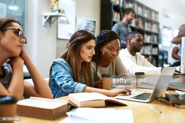 twice the brainpower on this assignment - college student stock pictures, royalty-free photos & images