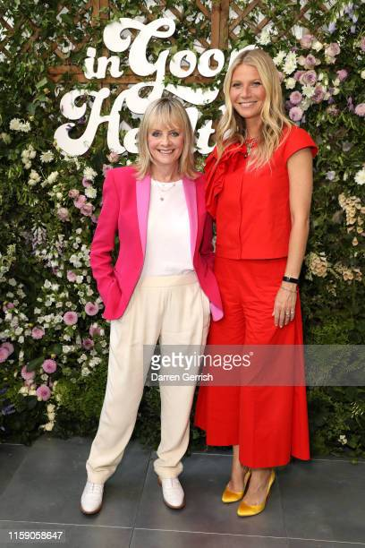 Twiggy and Gwyneth Paltrow at In goop Health London 2019 on June 29 2019 in London England