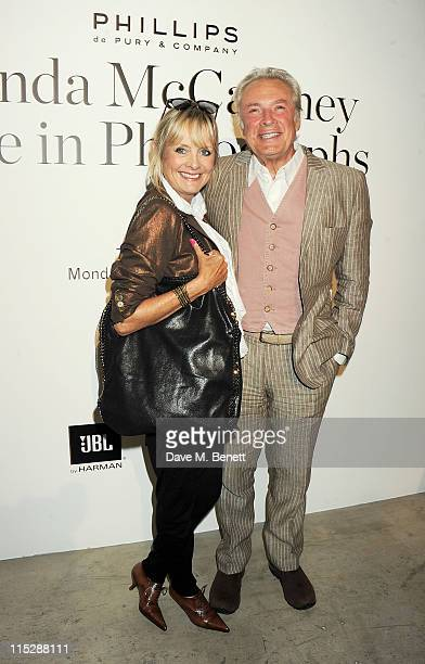Twiggy and Leigh Lawson attend a private viewing of 'A Life In Photographs: An Exhibition of Photography by Linda McCartney' at Phillips de Pury And...