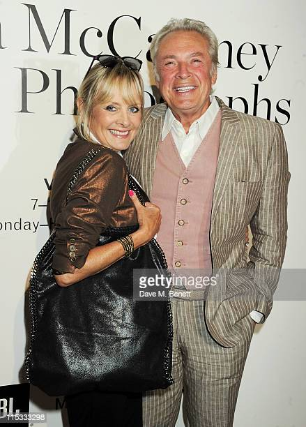 Twiggy and Leigh Lawson attend a private viewing of 'A Life In Photographs An Exhibition of Photography by Linda McCartney' at Phillips de Pury And...