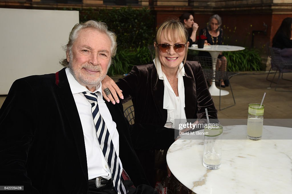 Twiggy (R) and Leigh Lawson (L) attend the 2016 V&A Summer Party In Partnership with Harrods at The V&A on June 22, 2016 in London, England.