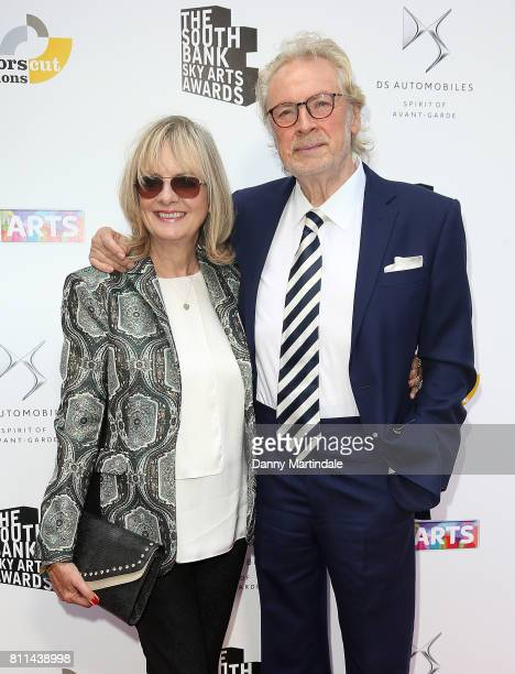 Twiggy and Leigh Lawson attending The Southbank Sky Arts Awards 2017 at The Savoy Hotel on July 9 2017 in London England