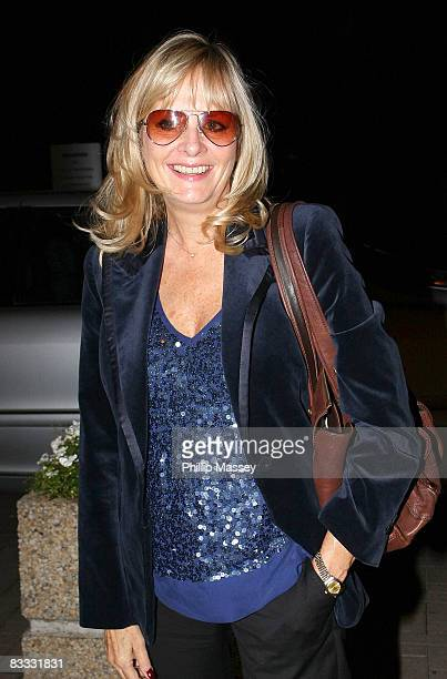 Twiggy arrives at The LateLlate Show at RTE studios on October 17, 2008 in Dublin, Ireland.