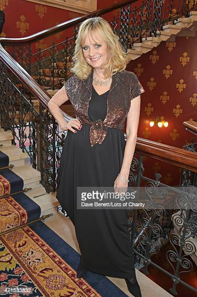 Twiggy attends the Lotsofcharitycom Remarkable dinner at the St Pancras Renaissance Hotel on April 29 2015 in London England
