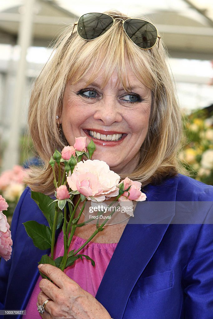 Twiggy attends the Press & VIP preview at The Chelsea Flower Show at Royal Hospital Chelsea on May 24, 2010 in London, England.