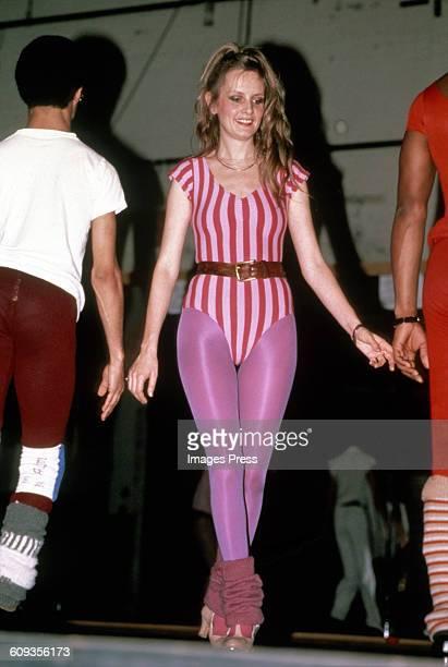 Twiggy circa 1980s in New York City