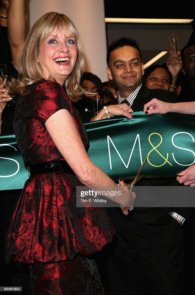 Celebrities Attend Marks And Spencer Shop Opening : News Photo