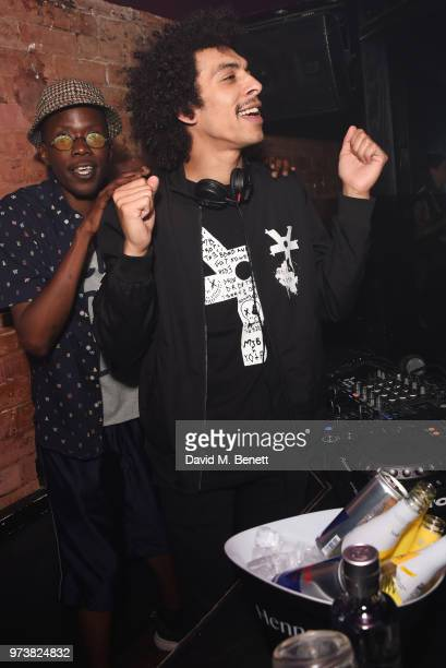 Twiggy Garcia attends the MJB x YOTA fashion capsule party supported by Ciroc who have designed MJB x YOTA Limited Edition Bottles at The Scotch of...