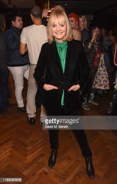 Twiggy Lawson attends a private screening of 'The Boy Friend' hosted by Twiggy at Kings Cross Everyman Cinema on October 23, 2019 in London, England.