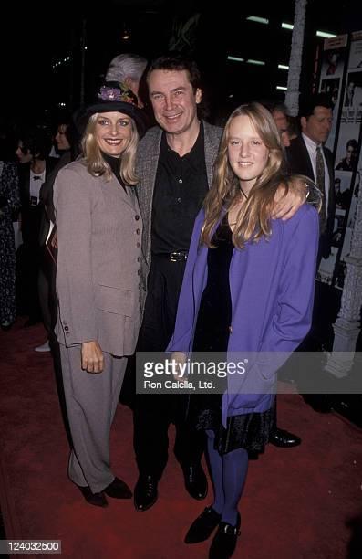 Twiggy Lawson Leigh Lawson and Carly Lawson