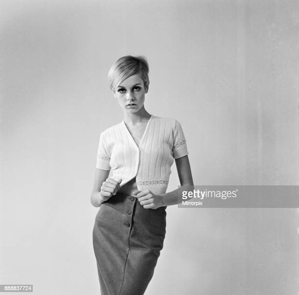 Twiggy - . Pictured in this October 1966 shoot for The Mirror and Herald, by Ron Burton. Twiggy was discovered in 1966, picture taken 28th October...