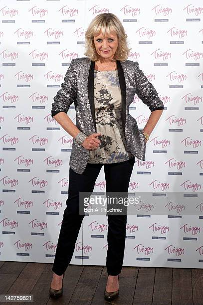 Twiggy shows the new collection Twiggy for MS Woman at Marks Spencer Head Office on April 12 2012 in London England