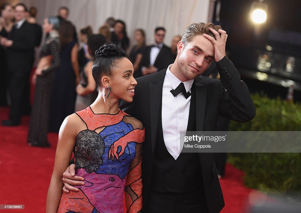 FKA Twigs (L) and Robert Pattinson attend the 'China: Through The Looking Glass' Costume Institute Benefit Gala at the Metropolitan Museum of Art on May 4, 2015 in New York City.