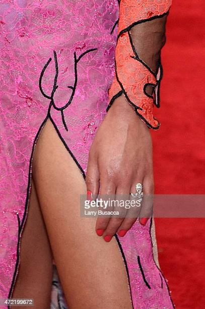 FKA twigs attend the China Through The Looking Glass Costume Institute Benefit Gala at the Metropolitan Museum of Art on May 4 2015 in New York City