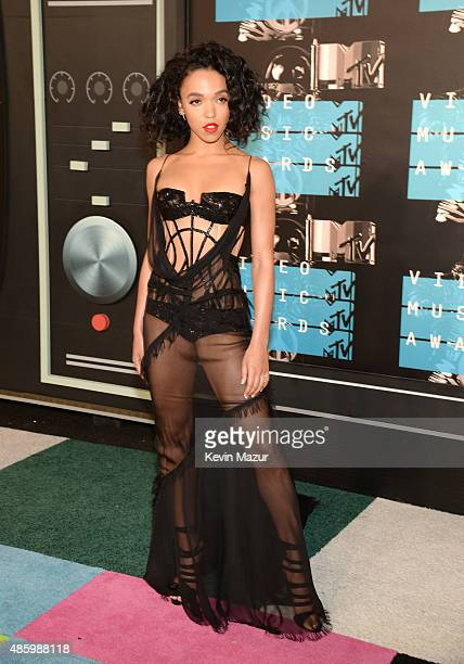 FKA twigs attends the 2015 MTV Video Music Awards at Microsoft Theater on August 30 2015 in Los Angeles California
