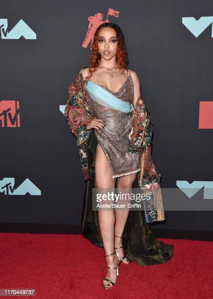FKA twigs attends the 2019 MTV Video Music Awards at Prudential Center on August 26 2019 in Newark New Jersey