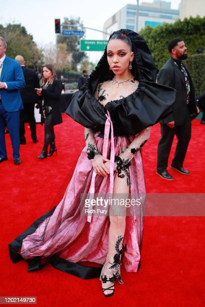 FKA twigs attends the 62nd Annual GRAMMY Awards at STAPLES Center on January 26 2020 in Los Angeles California
