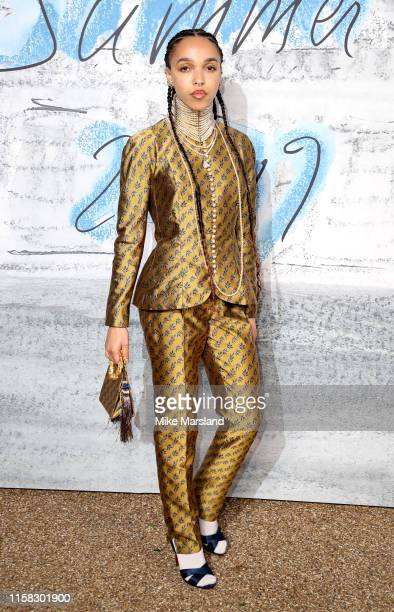 Twigs attends The Summer Party 2019 Presented By Serpentine Galleries And Chanel at The Serpentine Gallery on June 25 2019 in London England