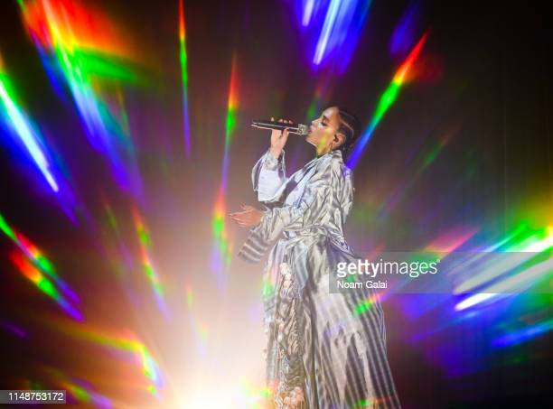 FKA twigs performs in concert at Park Avenue Armory on May 12 2019 in New York City