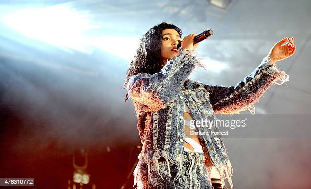 FKA twigs performs on day 2 of Parklife 2015 festival at Heaton Park on June 7 2015 in Manchester England