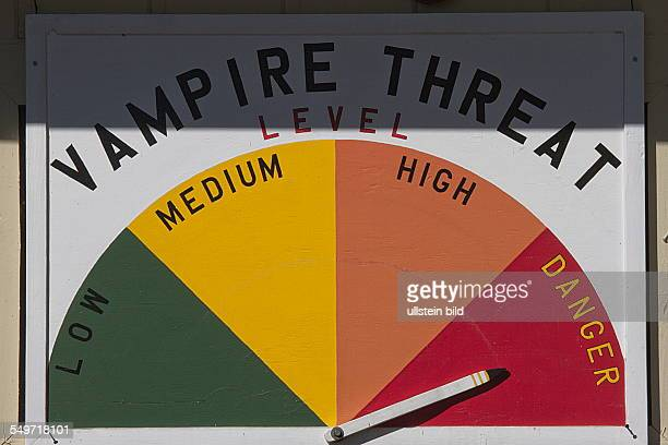 Twilight danger barometer in Three Rivers Olympic Peninsula Washington USA