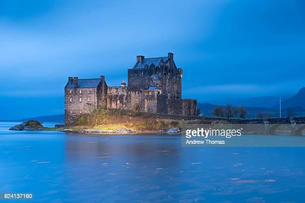 Twilight @ Eliean donan castle