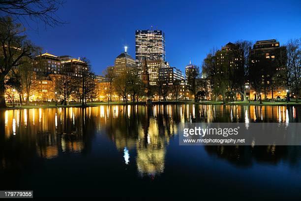 Twilight in Boston