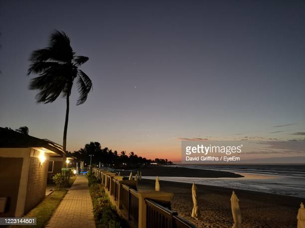 twilight in the gambia - banjul stock pictures, royalty-free photos & images