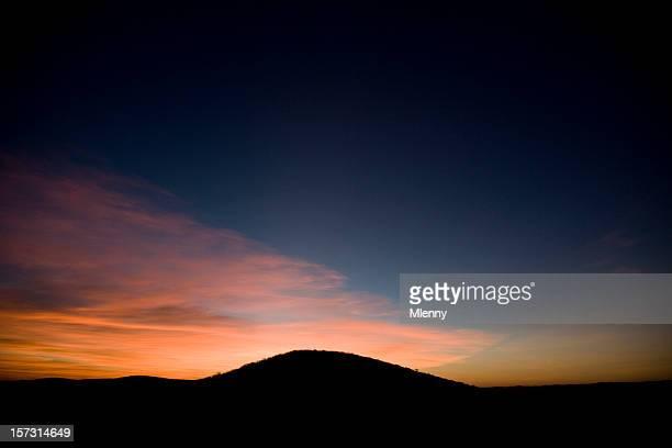 twilight landschaft namibia, afrika - mlenny stock-fotos und bilder