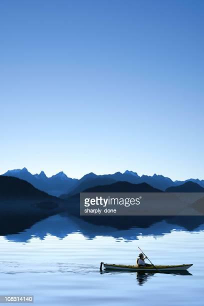 XXL twilight ocean kayaking