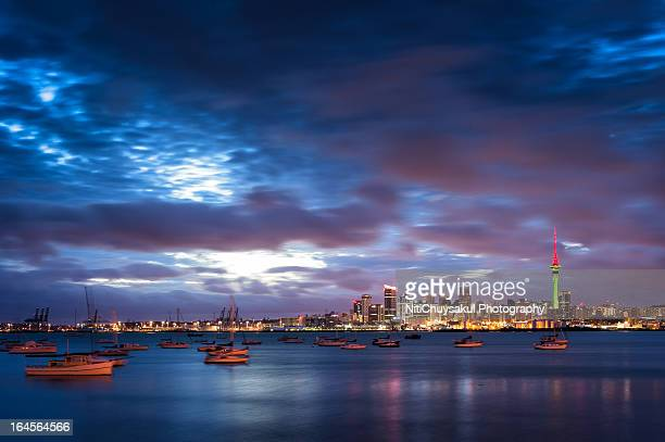 Twilight of Auckland