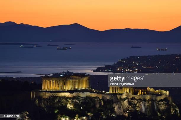 Twilight over Athens