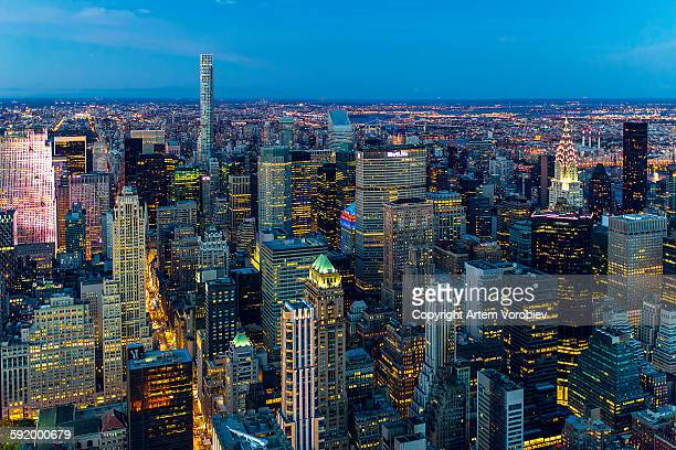 Twilight over New York