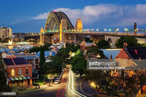 Twilight over the Harbour Bridge