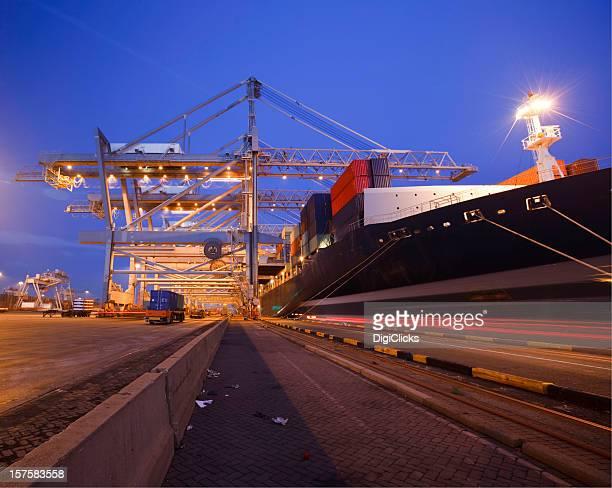 Twilight port activities