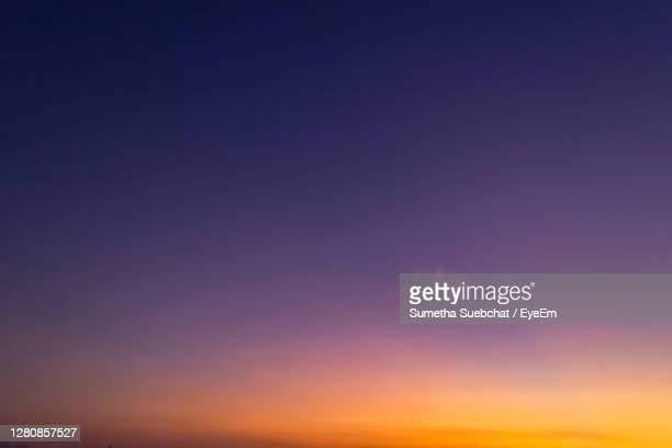 twilight sky in the evening - dusk stock pictures, royalty-free photos & images