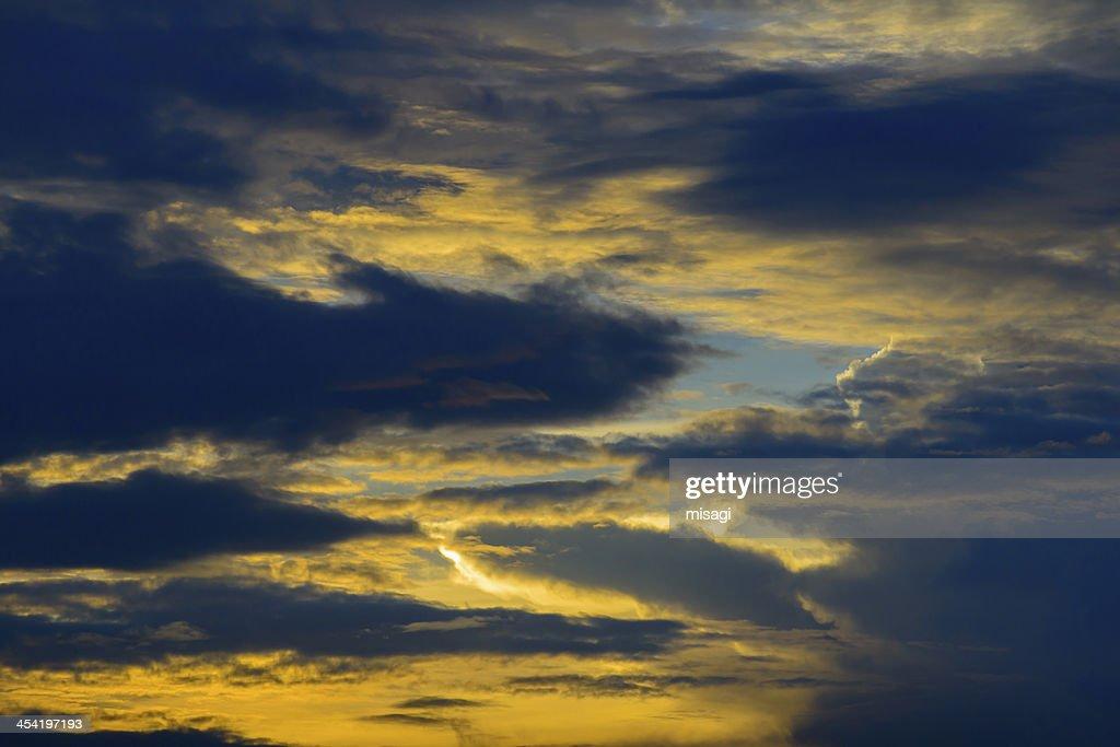 Twilight sky : Stock Photo