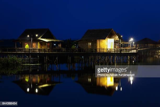 Twilight time at Inle Lake, Shan State, Myanmar