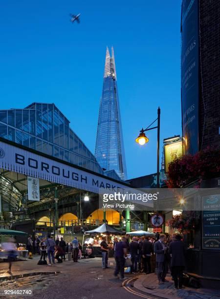Twilight views around Borough Market London Architectural Stock Various United Kingdom Architect n/a 2016