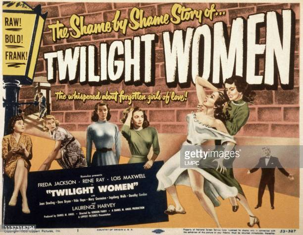 Twilight Women, poster, , US poster, Dora Bryan , Lois Maxwell , Rene Ray , 1952.