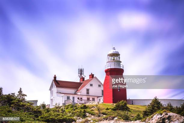 twillingate lighthouse - newfoundland and labrador stock pictures, royalty-free photos & images