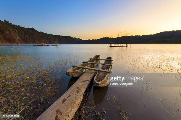 Twin Boat of Tamblingan Lake